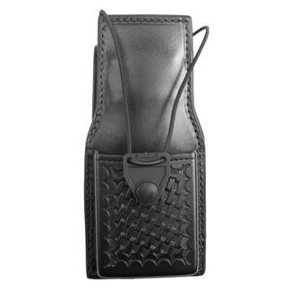 Gould & Goodrich Universal Swivel Radio Case Black Basket Weave