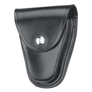 Gould & Goodrich Chain Handcuff Case with Nickel Hardware Hi-Gloss Black