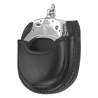Gould & Goodrich Open Handcuff Case Black Plain