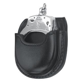 Gould & Goodrich Open Handcuff Case Black Hi-Gloss