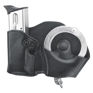 Gould & Goodrich Cuff and Mag Case with Belt Loop Black