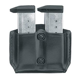 Gould & Goodrich Double Mag Case with Belt Loop Black