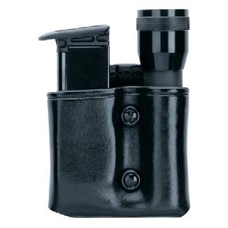 Gould & Goodrich Flashlight and Mag Combo Case Black