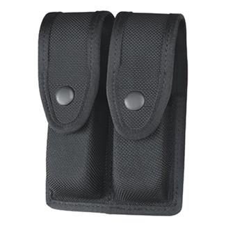Gould & Goodrich Ballistic Nylon Double Mag Case Black