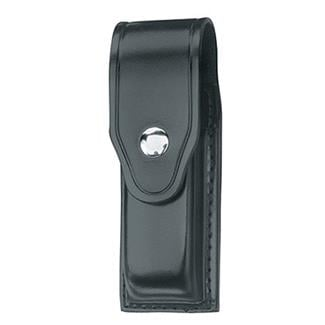 Gould & Goodrich Single Mag Case with Nickel Hardware Leather Black