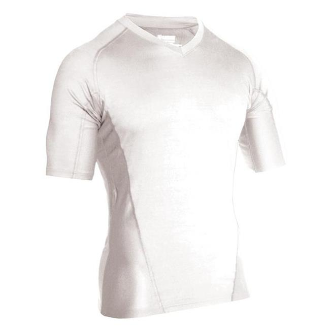 Blackhawk Engineered Fit SS V-Neck Shirts White