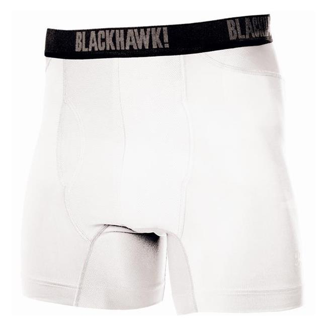 Blackhawk Engineered Fit Boxer Briefs White