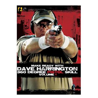 Panteao Make Ready with Dave Harrington 360 Degree Pistol Skill, Vol 1