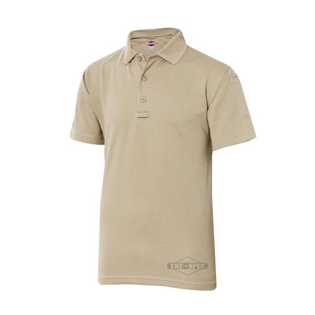 24-7 Series Polo Shirt Silver Tan