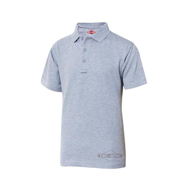 24-7 Series Polo Shirt Heather Gray