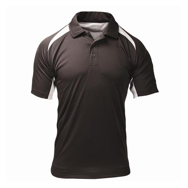 Blackhawk Short Sleeve Athletic Polos Black