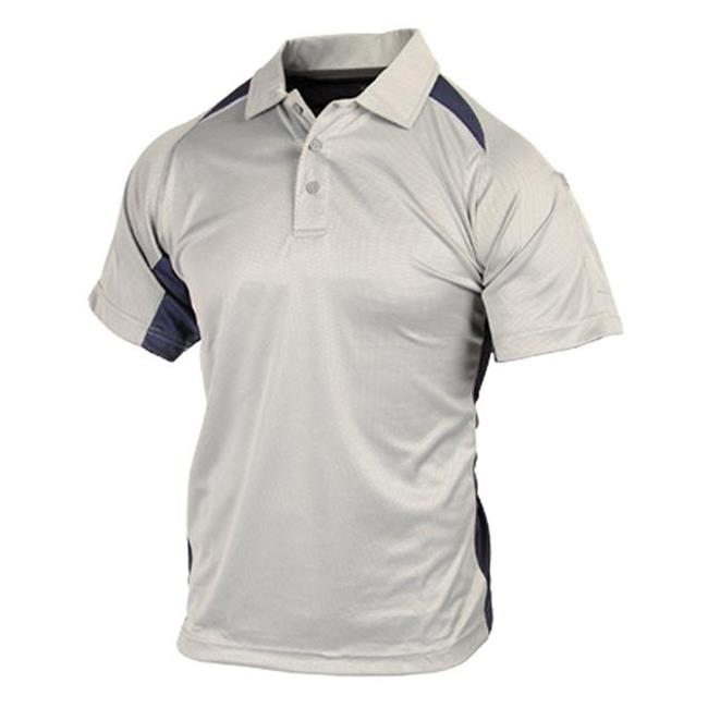 Blackhawk Short Sleeve Athletic Polos Gray