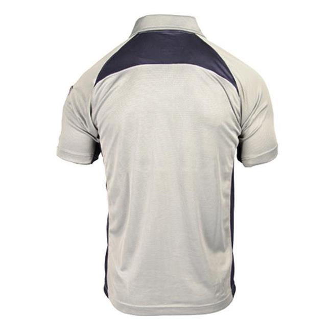 Blackhawk Short Sleeve Athletic Polos Gray