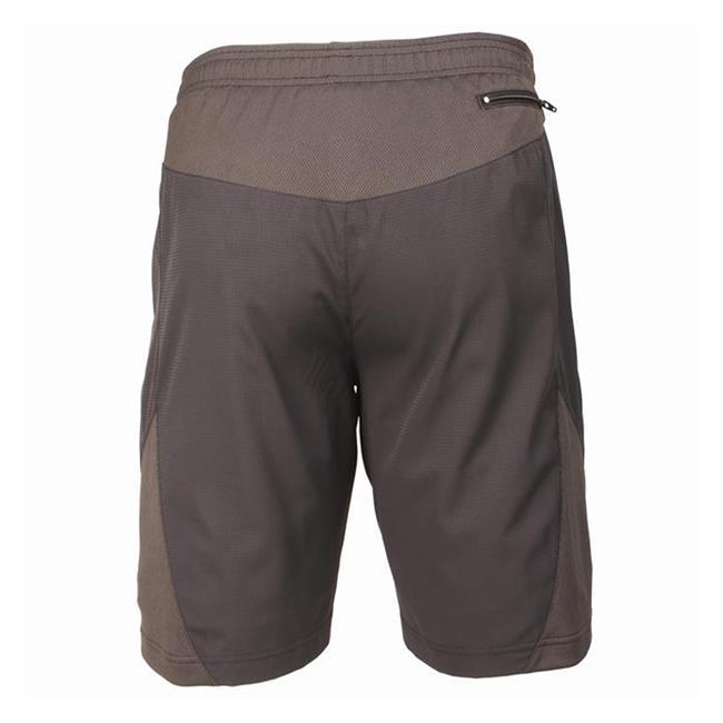 Blackhawk Long Athletic Shorts Gray
