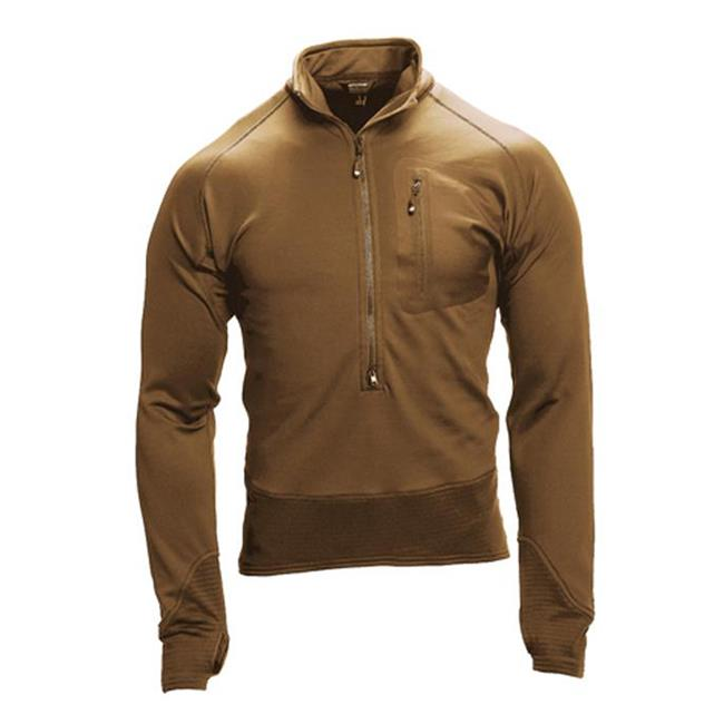 Blackhawk 3/4 Zip Soft fleece Pullover Coyote Brown