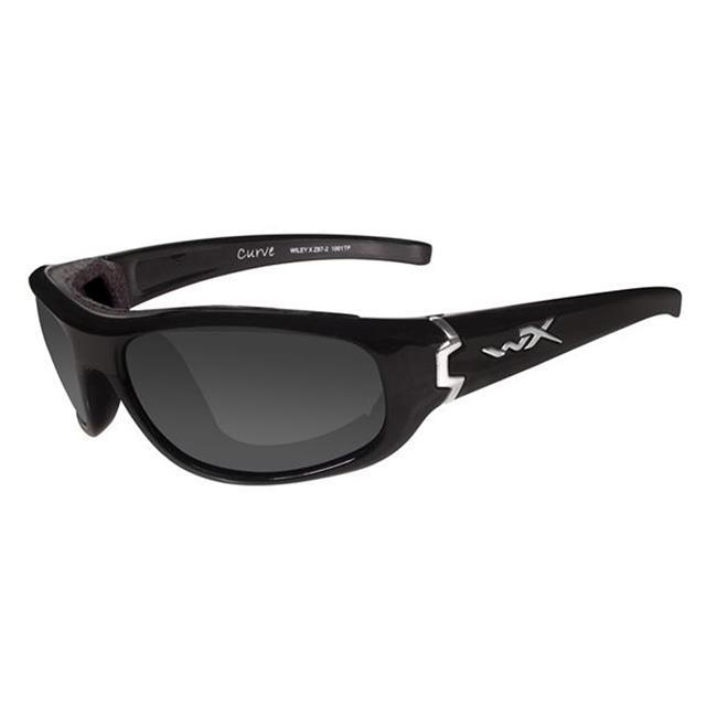 Wiley X Curve Gloss Black Smoke Gray