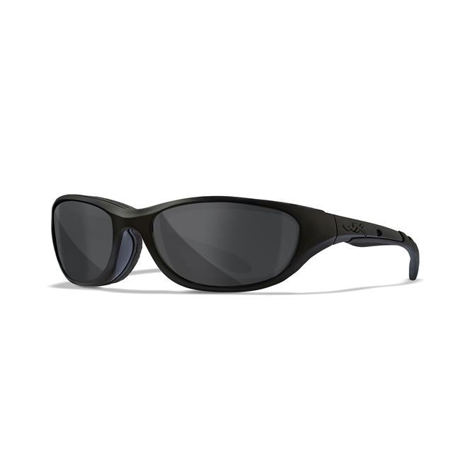 Wiley X AirRage Matte Black Black Ops Smoke Gray