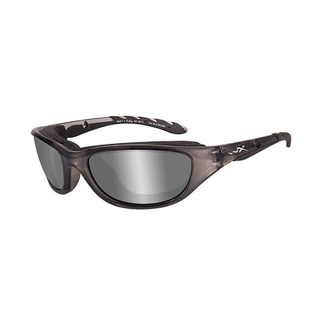 Wiley X AirRage Polarized Silver Flash Crystal Metallic