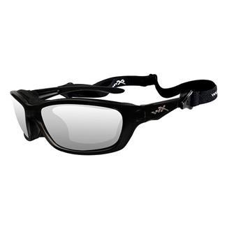 Wiley X Brick Gloss Black (frame) - Clear (lens)
