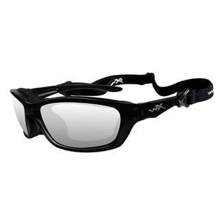 Wiley X Brick Clear Gloss Black