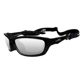 Wiley X Brick Gloss Black (frame) - Clear (lens)