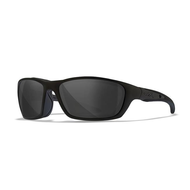 Wiley X Brick Matte Black Black Ops Smoke Gray