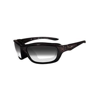 Wiley X Brick Gloss Black (frame) - Light Adjusting Smoke Gray (lens)