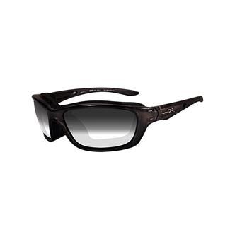 Wiley X Brick Metallic Black (frame) - Light Adjusting Smoke Gray (lens)