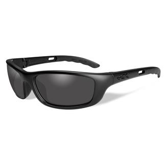 Wiley X P-17 Matte Black (frame) - Black Ops Smoke Gray (lens)