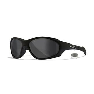 Wiley X XL-1 Advanced Smoke Gray / Clear Matte Black 2 Lenses