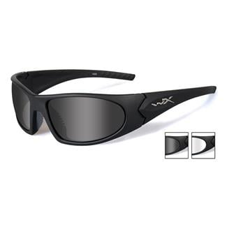 Wiley X Romer 3 Matte Black (frame) - Smoke Gray / Clear (2 Lenses)