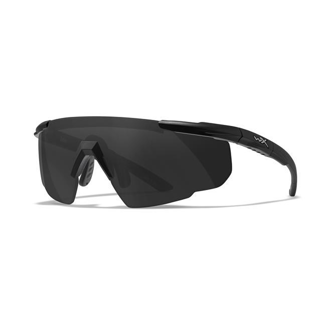 Wiley X Saber Advanced Matte Black 1 Lens Smoke Gray