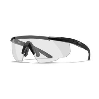 Wiley X Saber Advanced Matte Black Clear 1 Lens