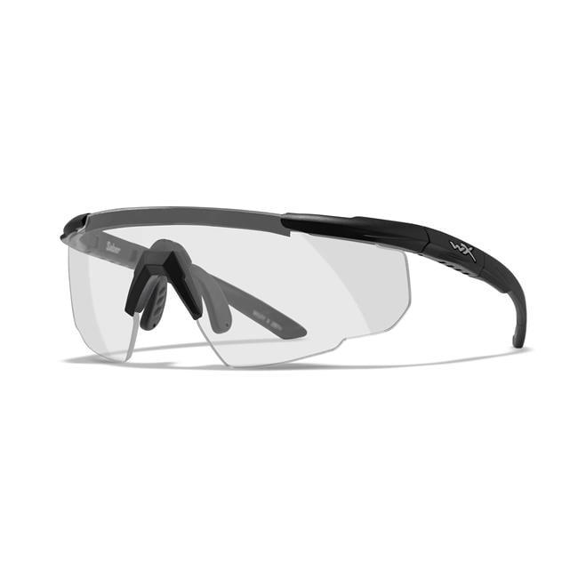 Wiley X Saber Advanced Clear Matte Black 1 Lens