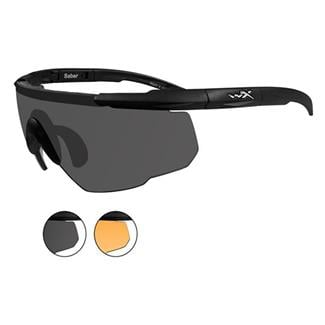 Wiley X Saber Advanced 2 Lenses Matte Black Smoke Gray / Light Rust