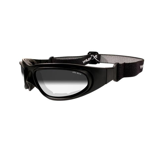 Wiley X SG-1 1 Lens Light Adjusting Smoke Gray Matte Black