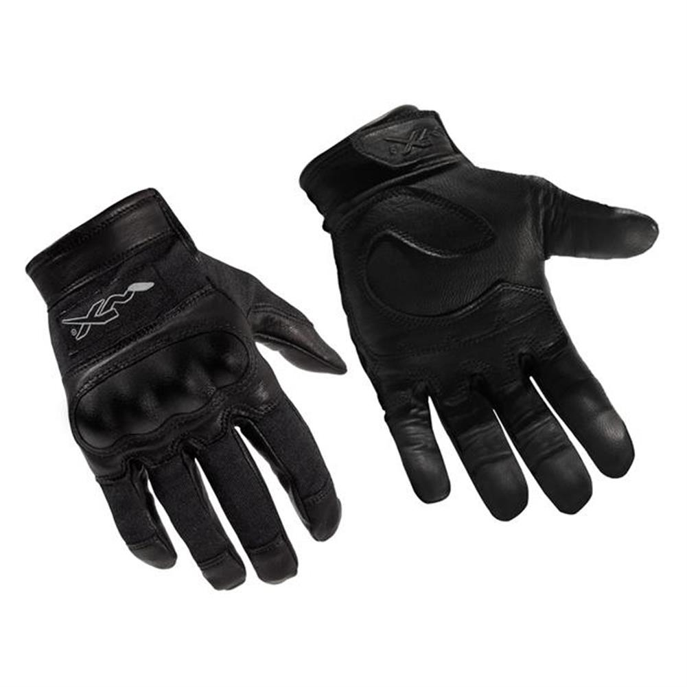 Black leather combat gloves - Wiley X Usa Combat Assault Gloves