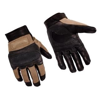 Wiley X Hybrid Removable Knuckle Gloves Coyote Tan