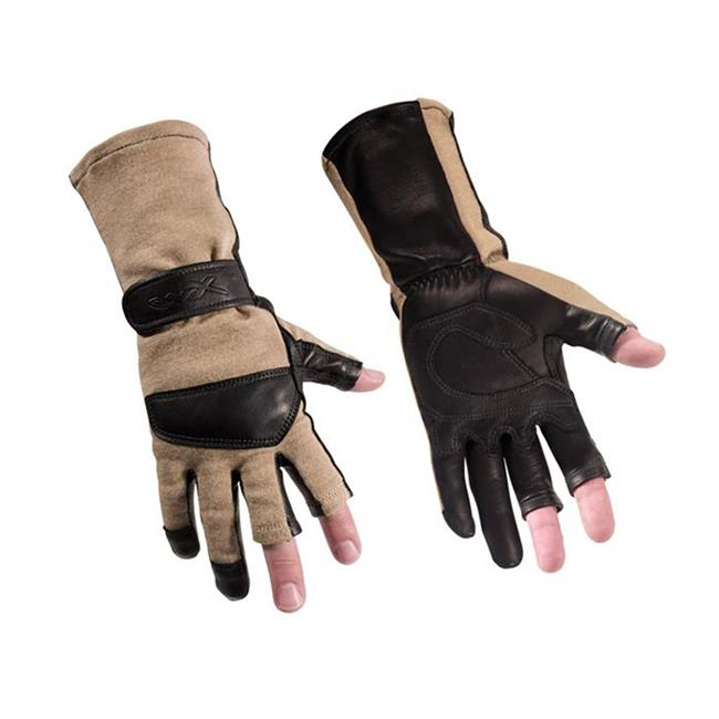Wiley X Aries Flight Gloves Coyote Tan
