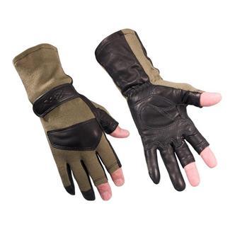 Wiley X Aries Flight Gloves Foliage Green