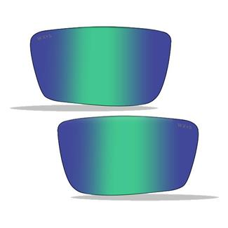 Wiley X Jake Replacement Lenses Polarized Emerald Mirror