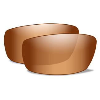 Wiley X AirRage Replacement Lenses Bronze Flash