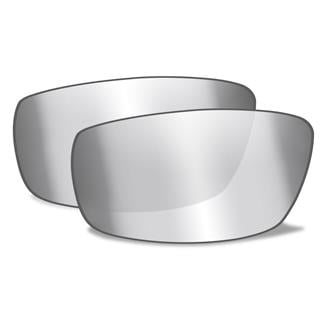 Wiley X AirRage Replacement Lenses Polarized Silver Flash