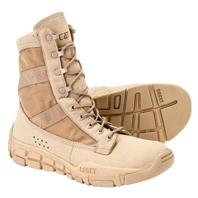 "Rocky 8"" C4 Trainer Tan"