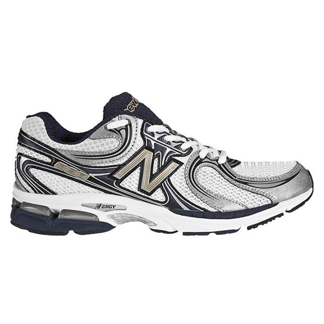 New Balance 860 White / Navy & Silver