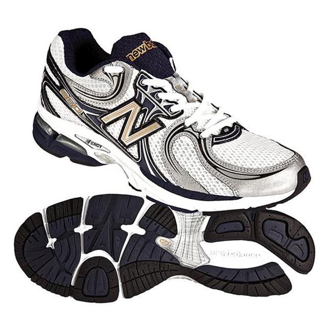 New Balance 860 White / Navy & Silver