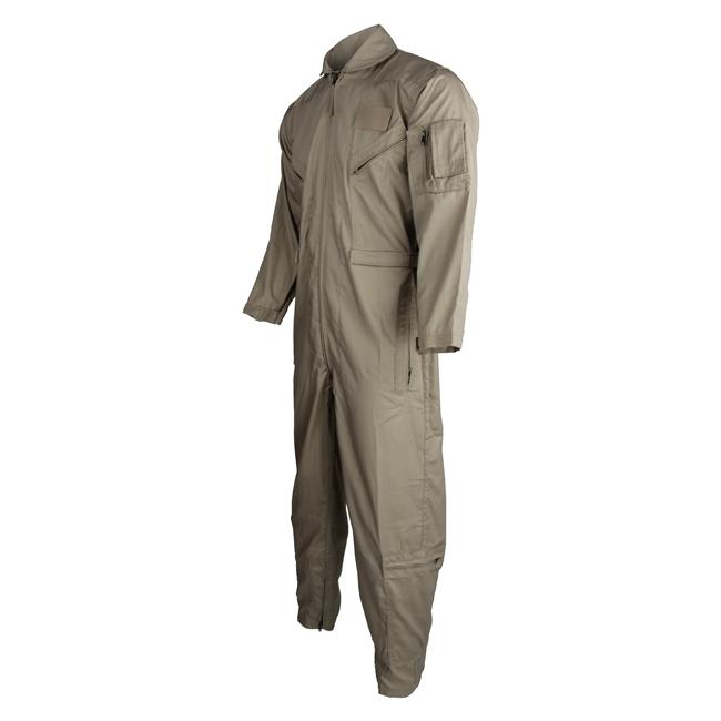 Tru-Spec Poly / Cotton Twill 27/P Flight Suits Khaki