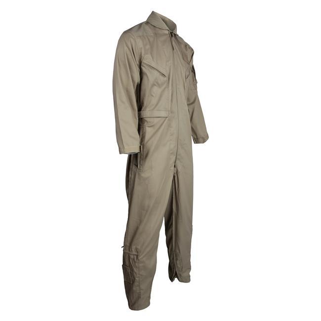 Tru-Spec Poly / Cotton Twill 27/P Flight Suits Khaki