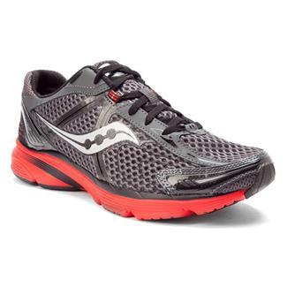 Saucony Mirage Gray / Black / Red