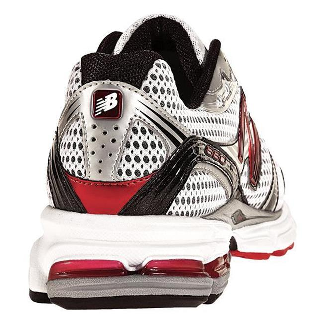 New Balance 880 Silver / Red & Black
